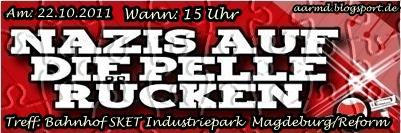 Aufruf zur Demo am 22.10.2011 in Magdeburg